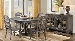 circle dining room table sets new at nice dr rm westbrook gray 5 pc round jpeg