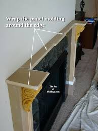 make a fireplace mantel how to build fireplace mantel part 3 make the collar capitals fireplace make a fireplace mantel