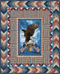 Old Glory One Stamp Quilt of Valor Pattern uses the Stonehenge ... & Old Glory One Stamp Quilt of Valor Pattern uses the Stonehenge