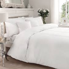just contempo pintuck duvet cover set king white co uk kitchen home