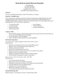 Financial Accountant Resume Sample Free Resume Example And
