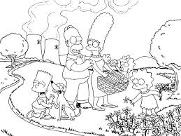 Simpsons Kleurplaten Barbie Kleurplaten Simpsons Movie Dwacme