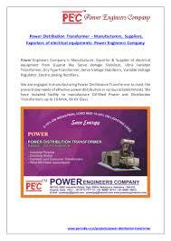 Lighting Transformer Manufacturers Power Distribution Transformer Manufacturers Suppliers