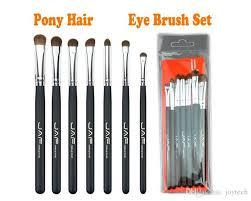 eye brushes set pink makeup brush sets makeup brushes kit natural jaf eye shadow brushes professional make up tools makeup cases makeup set from joytech