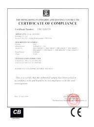 Certificate Of Compliance Template Word Certificate Of Conformance Template Word Amartyasen Co