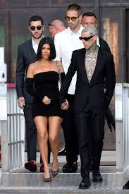 Kourtney Kardashian, Travis Barker ...