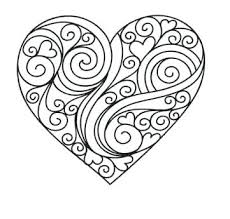 Hearts Coloring Pages Adult Coloring Pages Hearts And Love Love