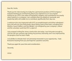 Thank You Email After Job Interview Template Thank You Email After ...