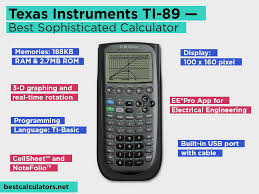 texas instruments ti 89 review pros and cons check our best sophisticated programmable