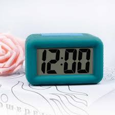 txl advance smart light with dimmer colorful snooze one key smart alarm clock green intl