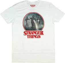 Amazon.com: Stranger Things Men's Bike Ride Mike Dustin Lucas Graphic  T-Shirt (Large): Clothing