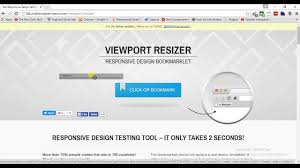 Website Design Testing Tools Responsive Design Testing Tool