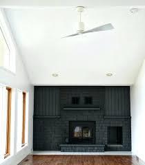 swingeing black brick fireplace brick fireplace painted black black painted brick fireplace surround love this black
