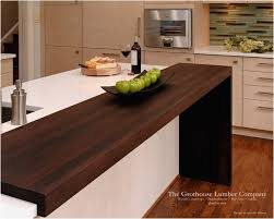 wood kitchen countertops new contemporary wenge dark wood countertop by grothouse