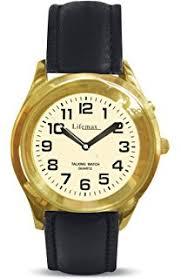 lifemax rnib men s talking watch 411 5 bracelet amazon co uk lifemax rnib men s talking watch 415 3 strap