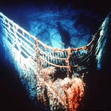 real underwater titanic pictures. Titanic Bow Underwater Real Pictures