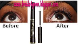 l oreal telescopic carbon black mascara review with before and after pictures