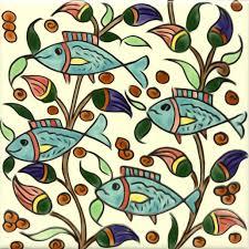 painted tile designs. Decorative Hand Painted Tile Fish Designs I