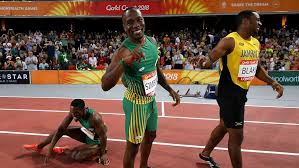 He finished fifth at the 2017 world championships in london and fourth in doha two years. Commonwealth Games South African Akani Simbine Trinidad And Tobago S Michelle Lee Ahye Win 100m Gold Abc News