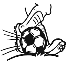 Small Picture Coloring Pages Soccer Ball Coloring Home