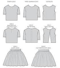 Crop Top Pattern Adorable Gigi Crop Top Skirt Girls UpCraft Club