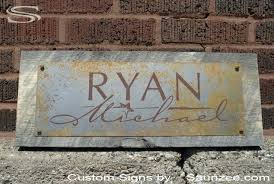 custom mild rusty metal signs steel sign rustic aged old galvanized metal galvanized signs