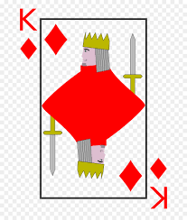King And Queen Of Hearts Designs Queen Of Hearts Card
