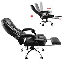 office chairs that recline. superland executive reclining office chair 360 degree swivel ergonomic high back with foot stool chairs that recline