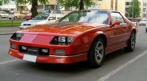 1987 Chevrolet Camaro - Information and photos - MOMENTcar