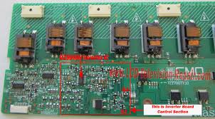 tv backlight inverter board. fix lcd inverter board tv backlight t