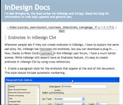 Endnotes References Bringhurst On Building Endnotes In Cs4 Indesignsecrets Com