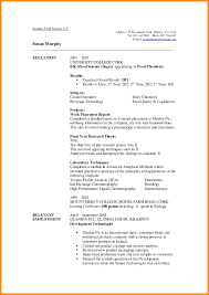 Completed Resume Examples Resume Completed Resume Examples 10
