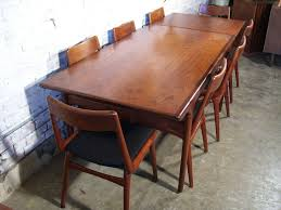 Danish Modern Dining Table Replace With A Danish Modern Dining Table The Chaise Furnitures