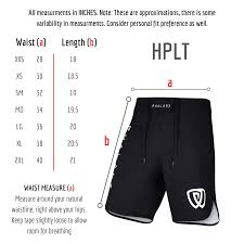 Cage Fighter Shorts Size Chart Camo Hplt Ultralight Shorts Gry Red