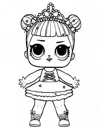 Lol Doll Coloring Pages Inspirational Series 3 Dawn Coloring Page