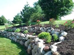plastic rock wall best garden walls paths and fences images on boulder retaining wall fake rock plastic rock wall