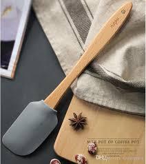 kitchen silicone cream er cake spatula mixing batter ser brush er mixer cake brushes baking tool kitchenware with wooden handle funny kitchen