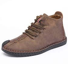 TUCSSON <b>Men's</b> Handmade Suede <b>Leather</b> Oxford Shoes <b>British</b> ...