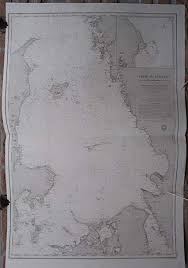 Amazon Com Antique Print Sea Chart Kattegat Norway Denmark