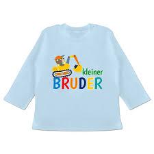 Kleiner Bruder Bagger Tshirt Rucksack Shirtracer