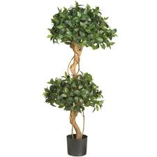 Decorative Indoor Trees Nearly Natural 4 Ft Areca Silk Palm Tree 5001 The Home Depot