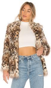 faux fur stella coat