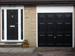 black garage door6748  Poynton  Carrington Doors
