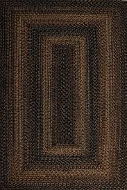 homespice decor black forest indoor outdoor braided rug 2 6 x9