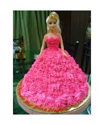Stunning Barbie Doll Cake Chillbakes