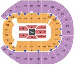 Wwe Raw Seating Chart Bridgestone Arena Wwe Wrestling Tickets
