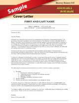 Resource Category Cv Cover Letter Umms