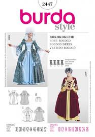 Costume Sewing Patterns Extraordinary Burda Costumes Costume Patterns Costume Sewing Patterns