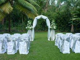 simple outdoor wedding decorations garden wedding decoration ideas