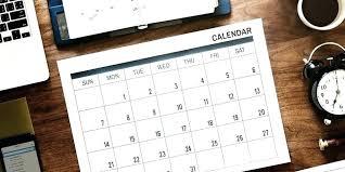 Diy Table Calendar Ideas Pishkhan Info